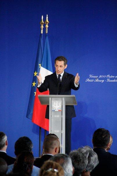 Discours de Nicolas Sarkozy en Guadeloupe (2011 - Voeux Outre Mer)