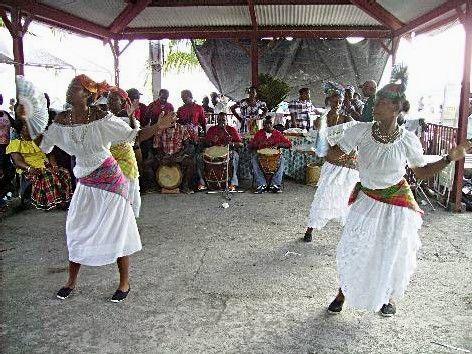 Le groupe MALAKA. Photo Atout Guadeloupe