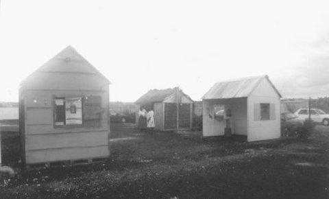 Photo 2. Reconstitution d'un village d'antan