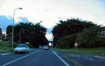 Pont du Lamentin avant l'accident
