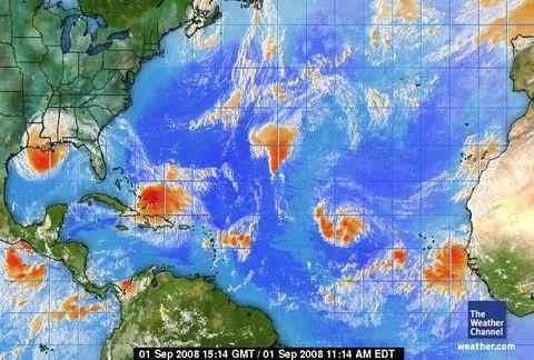 lundi 1 septembre : la Guadeloupe en vigilance météo JAUNE
