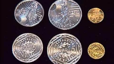 Euros en or et argent
