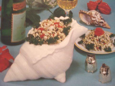La cuisine aux lambis de Man Popo