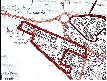 Plan de la ZUS de Lauricisque de Pointe à Pitre
