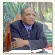 Jacques Gillot, Président du Conseil Général de la Guadeloupe
