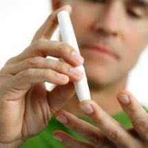 Le dépistage par une piqure au bout d'un doigt