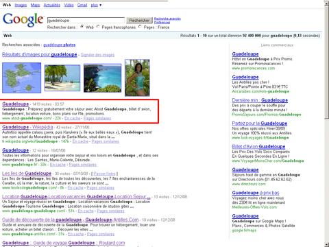 Atout Guadeloupe sur Google.fr