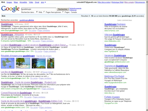 Atout Guadeloupe sur Google.ca