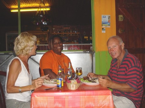 Chez Chantal, un restaurant de Bouillante à Petite Anse