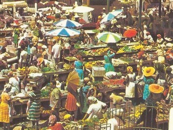 Marché de fruits et légumes de Pointe à Pitre