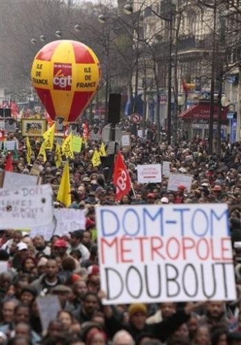 solidarité en métropole pour la Guadeloupe
