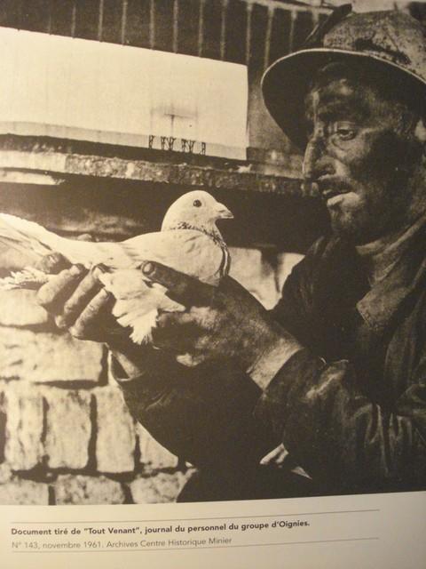 Photo tirée du livre de Chantal Six - Kocialkowski, elle même tirée du journal du personnel du groupe d'Oignies N° 143 de novembre 1961, archives du Centre historique Minier