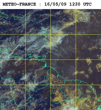 Carte météo france du 16 mai 2009