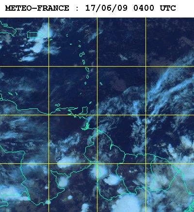 Météo satellite du mercredi 17 juin 2009