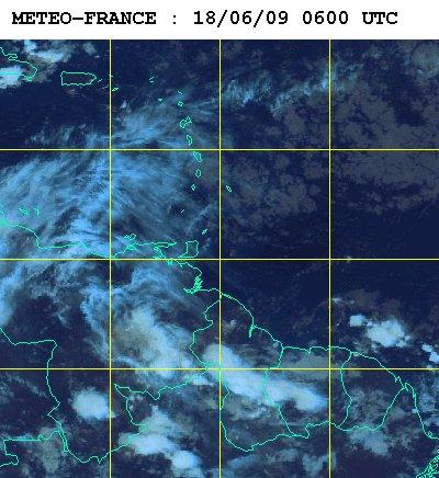 Météo satellite du jeudi 18 juin