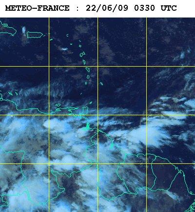 Météo satellite du lundi 22 juin 2009