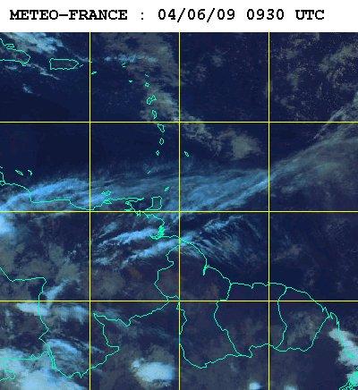 Météo satellite du mercredi 24 juin 2009
