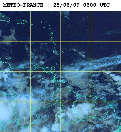 Météo satellite du jeudi 25 juin