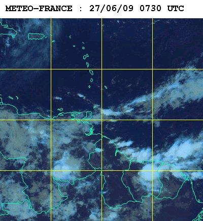 Météo satellite du samedi 27 juin 2009