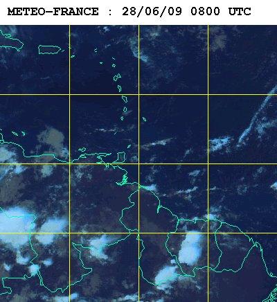Météo satellite du dimanche 28 juin 2009