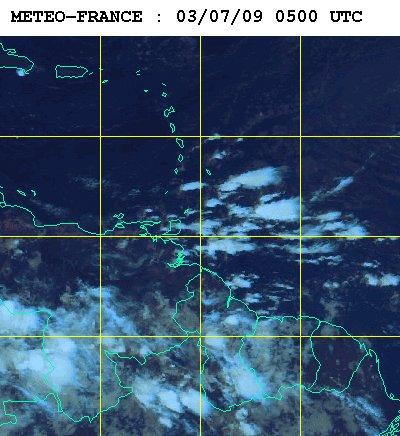 Météo satellite du samedi 4 juillet 2009