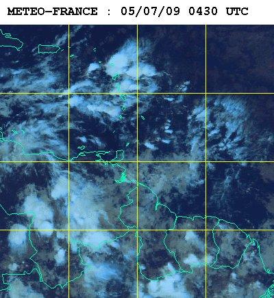 Météo satellite du dimanche 5 juillet 2009