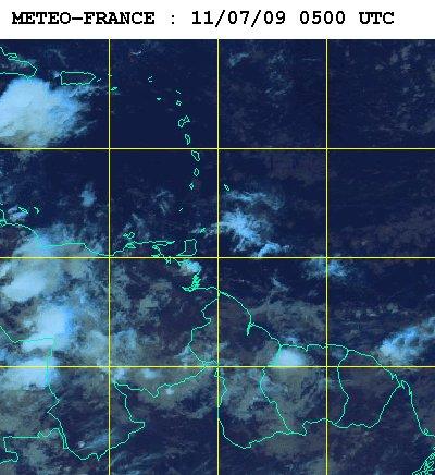 Météo satellite du samedi 11 juillet 2009