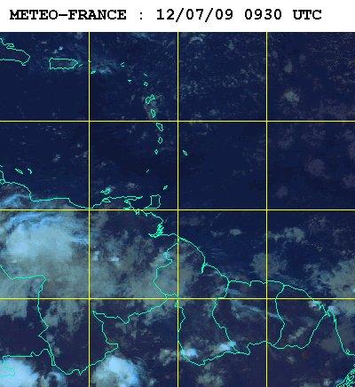 Météo satellite du samedi 12 juillet 2009