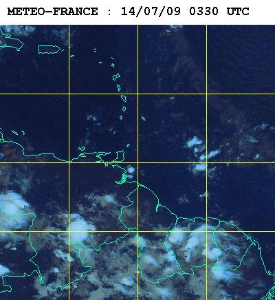 Météo satellite du mardi 14 juillet