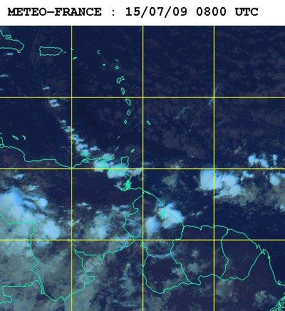 Météo satellite du mercredi 15 juillet 2009