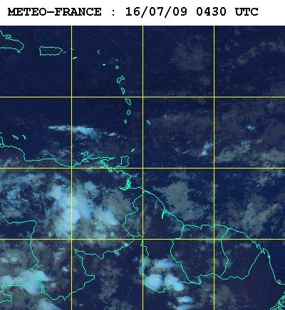 Météo satellite du jeudi 16 juillet 2009