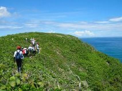 Bwa Lansan en randonnée