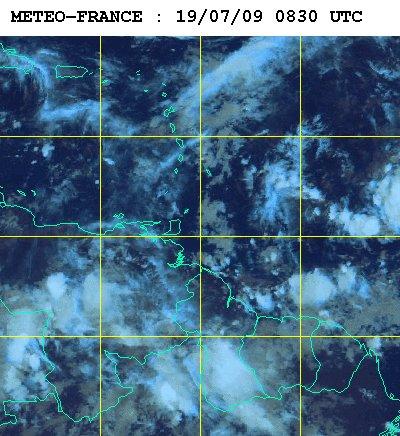 Météo satellite du dimanche 19 juillet 2009