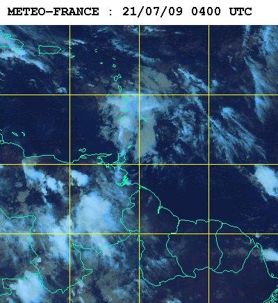 Météo satellite du mardi 21 juillet 2009