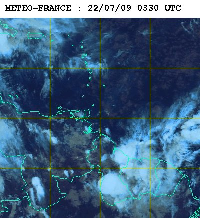 Météo satellite du mercredi 22 juillet 2009