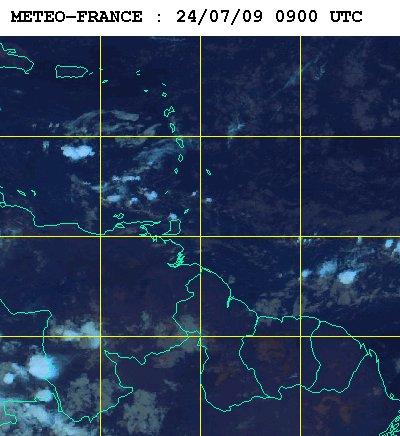 Météo satellite du vendredi 24 juillet 2009