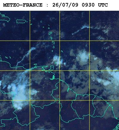 Météo satellite du dimanche 26 juillet 2009