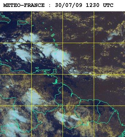 Météo satellite du jeudi 30 juillet