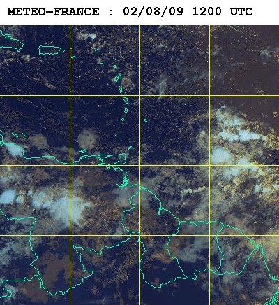 Météo satellite du dimanche 2 aout 2009