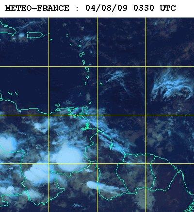 Météo satellite du mardi 4 aout 2009