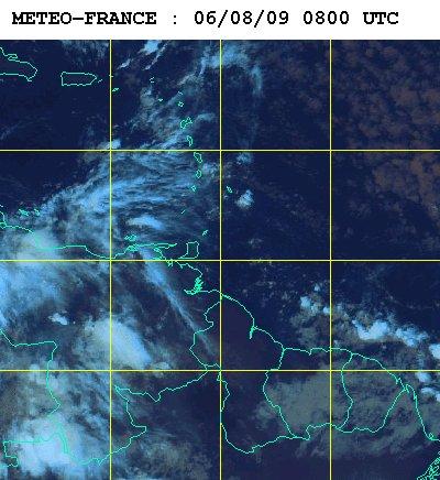 Météo satellite du jeudi 6 aout 2009