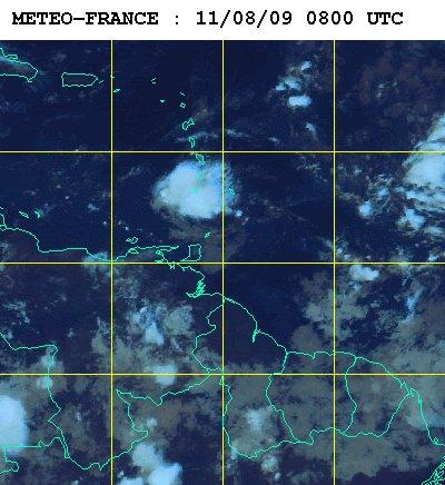 Météo satellite du mardi 11 aout 2009