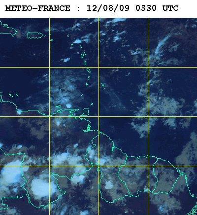 Météo satellite du mercredi12 aout 2009
