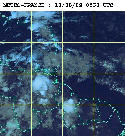 Météo satellite du jeudi 13 aout,