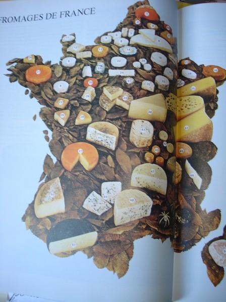 Tous les fromages de France, Edition Elle