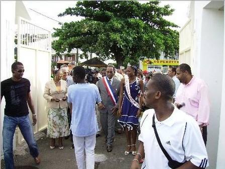Inauguration du stade de vieux Habitants,, homologué en catégorie B, le 12 novembre 2007,photo atout guadeloupe