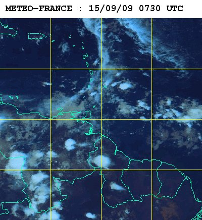 Météo satellite du mardi 15 septembre 2009