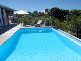 Location villa saint fran ois guadeloupe for Alarme piscine pas chere