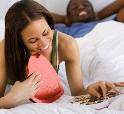 Un lit pour votre Valentine...