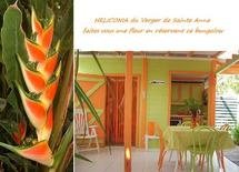 location bungalow guadeloupe : Héliconia du Verger de Sainte Anne